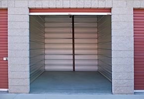 open storage unit